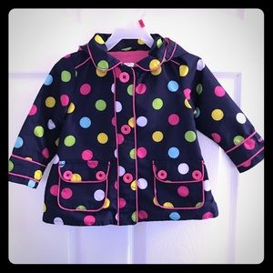 Other - Cute Polka Dot Spring Coat